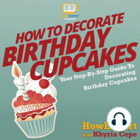 How To Decorate Birthday Cupcakes