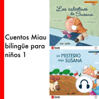 Cuentos Miau bilingüe para niños 1