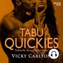 Tabu Quickies. Scharfe Sexgeschichten: Erotik-Box mit erotischen Geschichten