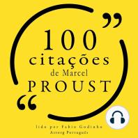 100 citações de Marcel Proust