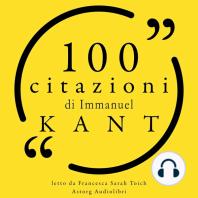 100 citazioni di Immanuel Kant