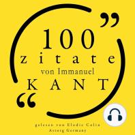 100 Zitate von Immanuel Kant