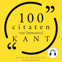 100 citaten van Immanuel Kant
