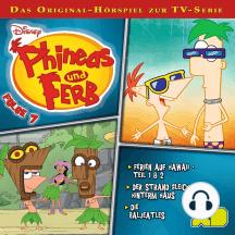 Disney - Phineas und Ferb - Folge 7: Ferien auf Hawaii -  Teil 1 & 2/Der Strand gleich hinterm Haus/Die Baljeatles