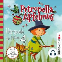 Petronella Apfelmus, Teil 4: Verhexte Bäckerei, Das Band der Freundschaft, Hexengeburtstag, Aufprall mit Folgen