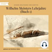 Wilhelm Meisters Lehrjahre, Buch 1 (Ungekürzt)