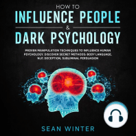 How to Influence People and Dark Psychology 2-in-1 Book Proven Manipulation Techniques to Influence Human Psychology. Discover Secret Methods