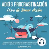 Adiós procrastinación, hora de tomar acción ¿Te sientes como un oso perezoso mirando la vida pasar? Rompe con malos hábitos y encuentra motivación sin límites. Incluso siendo un flojo sin remedio