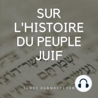 Sur l'histoire du peuple juif