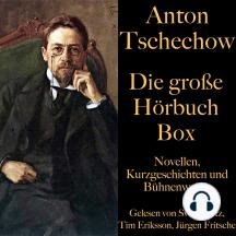 Anton Tschechow: Die große Hörbuch Box: Novellen, Kurzgeschichten und Bühnenwerke