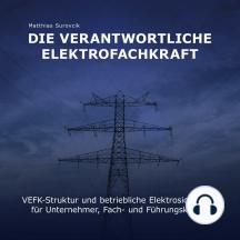 Die Verantwortliche Elektrofachkraft: VEFK-Struktur und Betriebliche Elektrosicherheit für Unternehmer, Fach und Führungskräfte