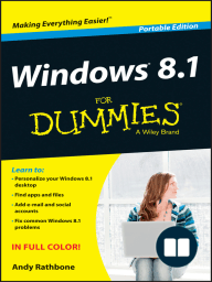Windows 8.1 For Dummies, Portable Edition