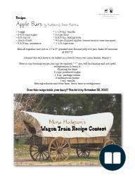 Apple Bars by Kathleen Wagon Recipe Contest