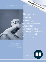 Discipline-Centered Learning Communities