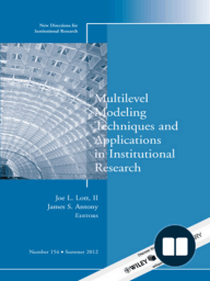 Multilevel Modeling Techniques and Applications in Institutional Research