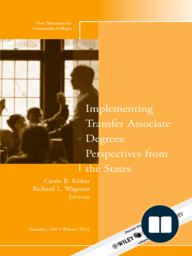Implementing Transfer Associate Degrees