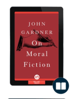 On Moral Fiction by John Gardner {Excerpt}