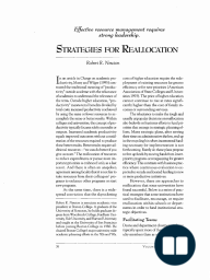 Strategies for Reallocation