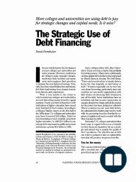 The Strategic Use of Debt Financing