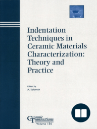 Indentation Techniques in Ceramic Materials Characterization