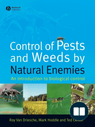 Control of Pests and Weeds by Natural Enemies