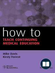 How to Teach Continuing Medical Education