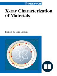 X-ray Characterization of Materials