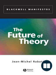 The Future of Theory