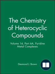 The Chemistry of Heterocyclic Compounds, Pyridine Metal Complexes