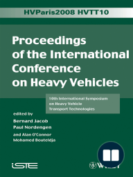 Proceedings of the International Conference on Heavy Vehicles, HVTT10