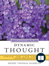 Dynamic Thought, Lessons 1-4