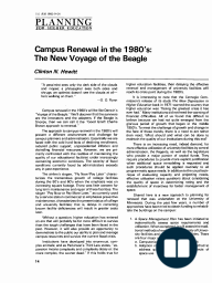 Campus Renewal in the 1980's