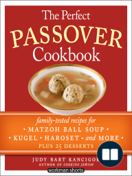 The Perfect Passover Cookbook