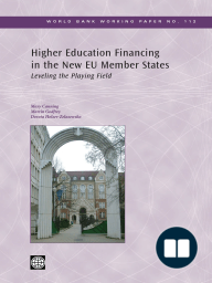 Higher Education Financing in the New EU Member States
