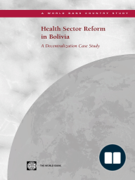 Health Sector Reform in Bolivia