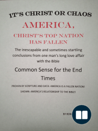 America, Christ's Top Nation has Fallen