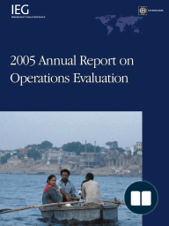 2005 Annual Report on Operations Evaluation