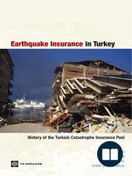 Earthquake Insurance in Turkey