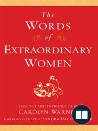The Words of Extraordinary Women