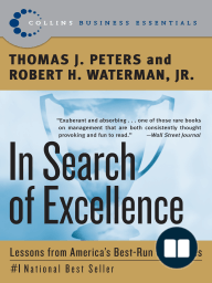In Search of Excellence