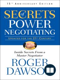 Secrets of Power Negotiating