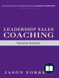 Leadership Sales Coaching