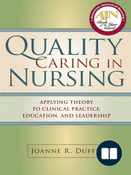 Quality Caring in Nursing