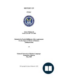 Internship Report on Bata Shoe Org Pakistan 2009