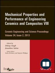 Mechanical Properties and Performance of Engineering Ceramics and Composites VIII