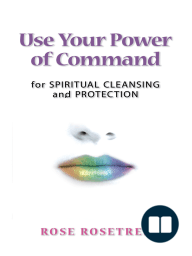 Use Your Power of Command for Spiritual Cleansing and Protection-XLED