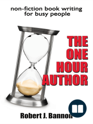 THE ONE HOUR AUTHOR non-fiction book writing for busy people