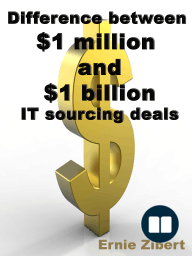 Difference between $1 million and $1 billion IT sourcing deals