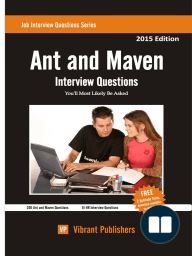 Ant and Maven Interview Questions You'll Most Likely Be Asked
