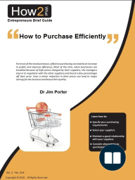 How to Purchase Efficiently